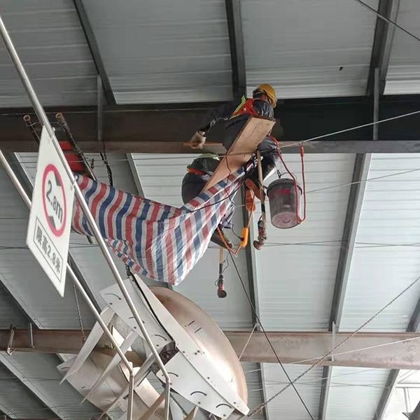光明牛奶集团申牛牧场厂房钢结构防腐