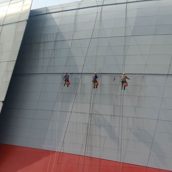 盐城体育馆外墙清洗